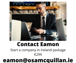 start a company in Ireland